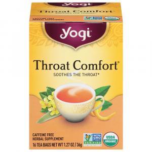 Yogi Organic Throat Comfort Herbal Tea Bags