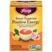 Yogi Sweet Tangerine Positive Energy Tea