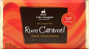 Lake Champlain Rum Caramel Filled Bar