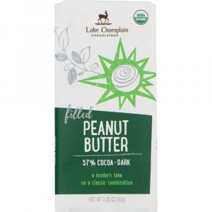 Lake Champlain Organic Peanut Butter Filled Dark Chocolate