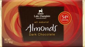 Lake Champlain Dark Chocolate Bar with Almonds