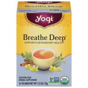 Yogi Organic Breathe Deep Tea Bags