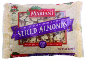Mariani Sliced Natural Almonds