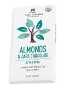 Lake Champlain Chocolates Almonds & Dark Chocolate Bar