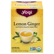 Yogi Lemon Ginger Tea Bags