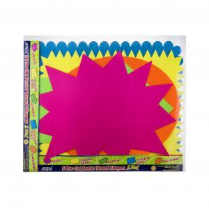ArtSkill Pre Cut Poster Board Shapes