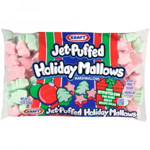 Jet-Puffed Holiday Marshmallows