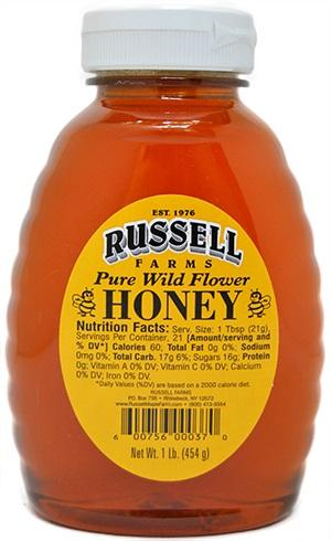 Russell Farms Pure Wild Flower Honey
