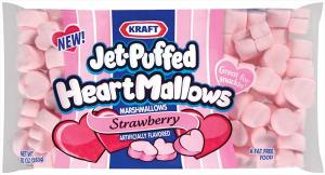 Kraft Jet-puffed Strawberry Heartmallows