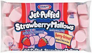 Kraft Jet-puffed Strawberry Marshmallows