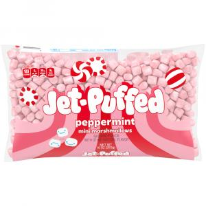 Kraft Jet-Puffed Mini Peppermint Marshmallows