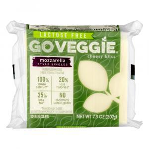 Go Veggie Lactose Free Mozzarella Slices