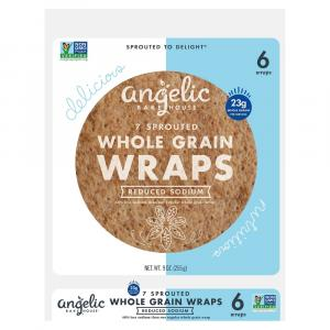 Angelic Bakehouse Sprouted 7 Grain Reduced Sodium Wrap