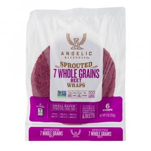 Angelic Bakehouse Sprouted 7 Grain Beet Wrap