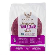 Angelic Sprouted 7 Grain Beet Wrap