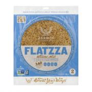 Angelic Flatzza Sprouted Mash 7 Grain Flatbread
