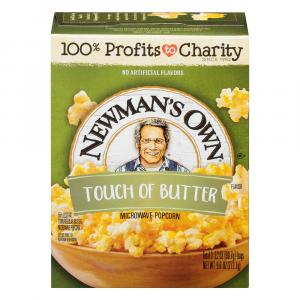 Newman's Own Touch Of Butter Popcorn
