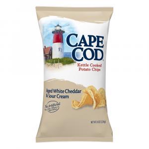 Cape Cod Potato Chips White Cheddar & Sour Cream