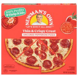 Newman's Own Uncured Pepperoni Pizza