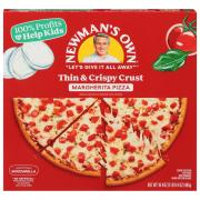 Newman's Own Thin and Crisp Crust Margherita Pizza