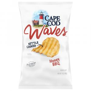 Cape Cod Kettle Cooked Potato Chips Honey BBQ Waves