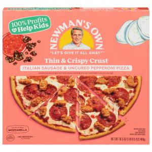 Newman's Own Italian Sausage & Uncured Pepperoni Pizza