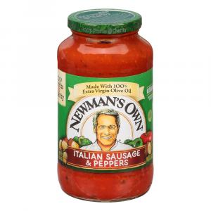 Newman's Own Sausage & Peppers Pasta Sauce