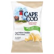 Cape Cod Potato Chips Reduced Fat White Cheddar & Sour Cream