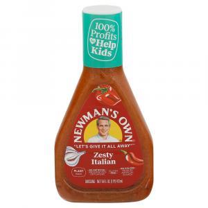 Newman's Own Zesty Italian Salad Dressing