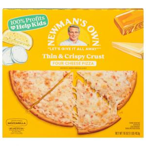 Newman's Own Four Cheese Pizza