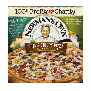 Newman's Own Thin And Crispy Mediterranean Pizza