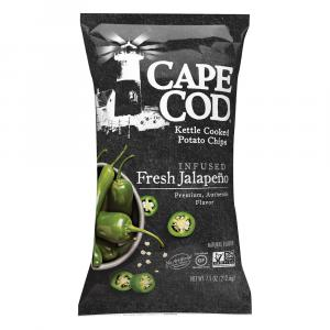 Cape Cod Potato Chips Infused Fresh Jalapeno