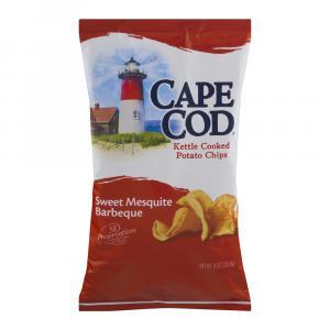 Cape Cod Potato Chips Sweet Mesquite Barbecue