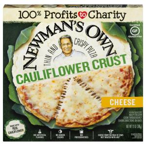 Newman's Own Cauliflower Crust Cheese Pizza