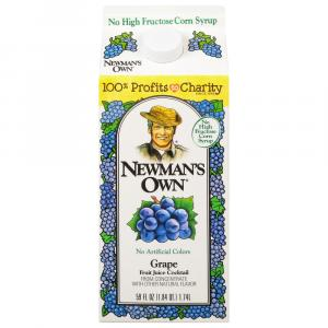 Newman's Own Gorilla Grape Fruit Juice Cocktail