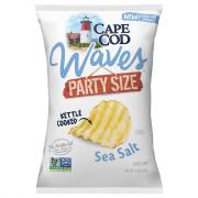 Cape Cod Potato Chips Waves Sea Salt