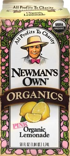 Newman's Own Organic Pink Lemonade