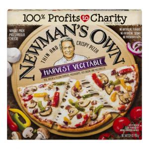 Newman's Own Harvest Vegetable Pizza