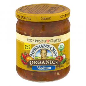 Newman's Own Organic Medium Salsa