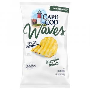 Cape Cod Potato Chips Waves Jalapeno Ranch