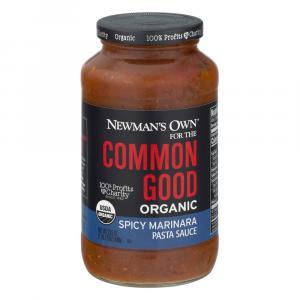 Newman's Own Common Good Organic Spicy Marinara Pasta Sauce