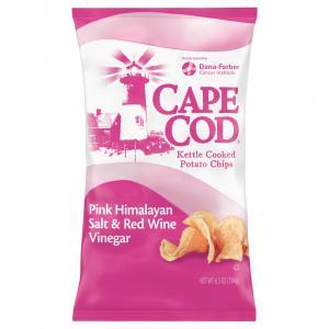Cape Cod Potato Chips Pink Himalayan Salt & Red Wine Vinegar