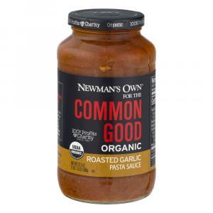 Newman's Own Common Good Organic Roasted Garlic Sauce