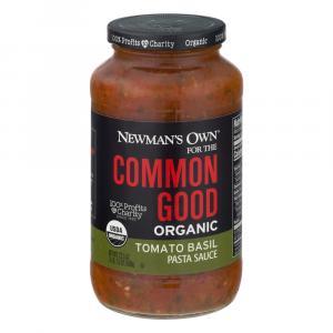 Newman's Own Common Good Organic Tomato Basil Sauce