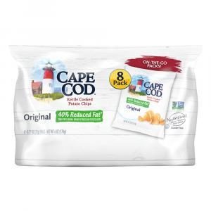 Cape Cod Potato Chips Reduced Fat Original
