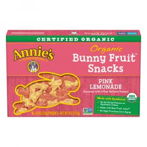 Annie's Organics Pink Lemonade Fruit Snacks