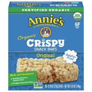 Annie's Organic Crispy Snack Bars Original