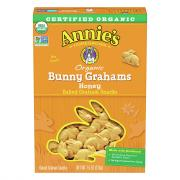 Annie's Homegrown Organic Honey Bunny Graham Snacks