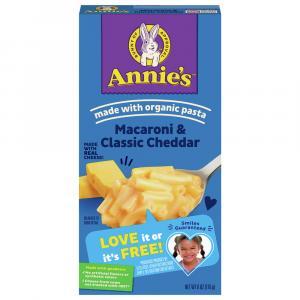 Annie's Homegrown Classic Macaroni & Cheese