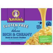 Annie's Organic Gluten Free Rice Pasta & Extra Cheesy Sauce